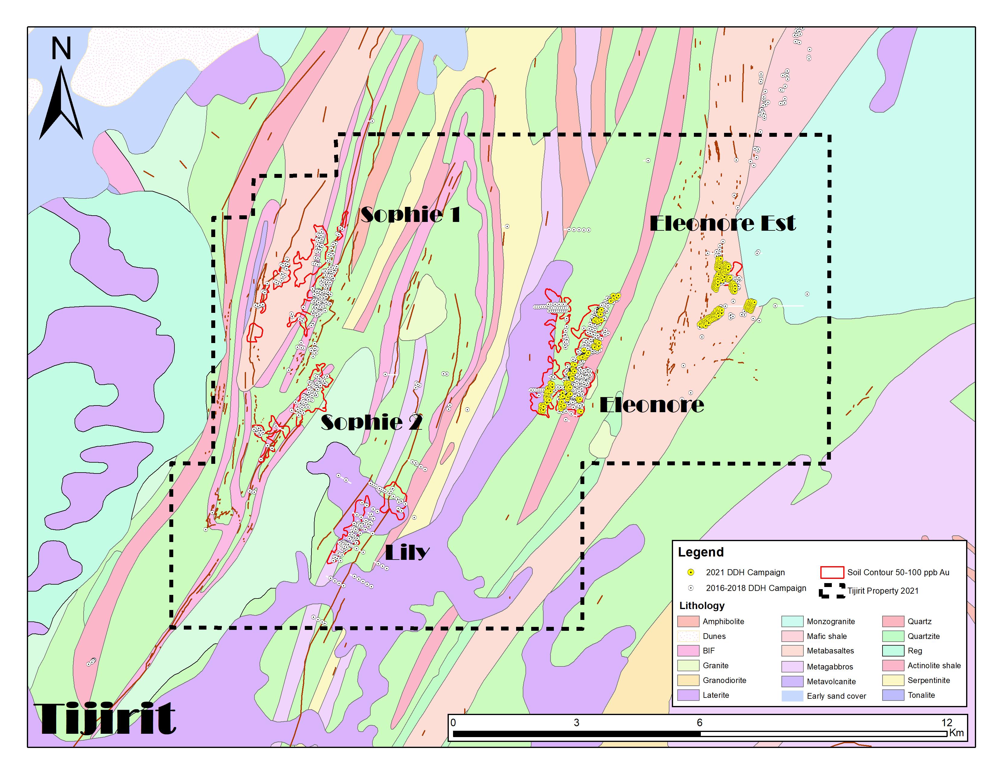 Tijirit_Geology